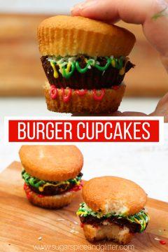 Kids' Kitchen: Burger Cupcakes