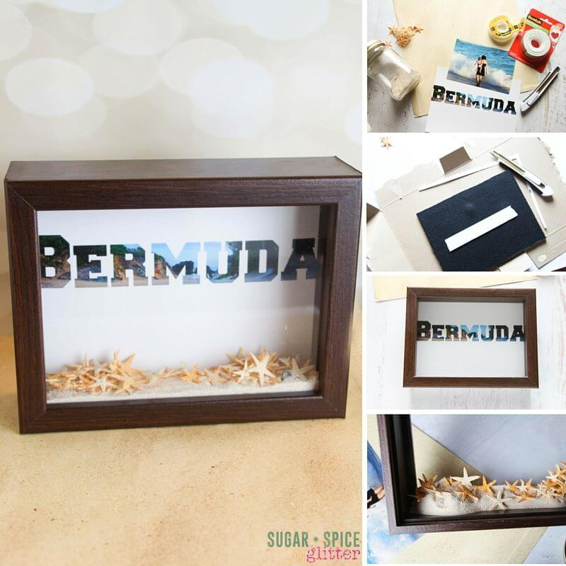 DIY Travel Shadowbox
