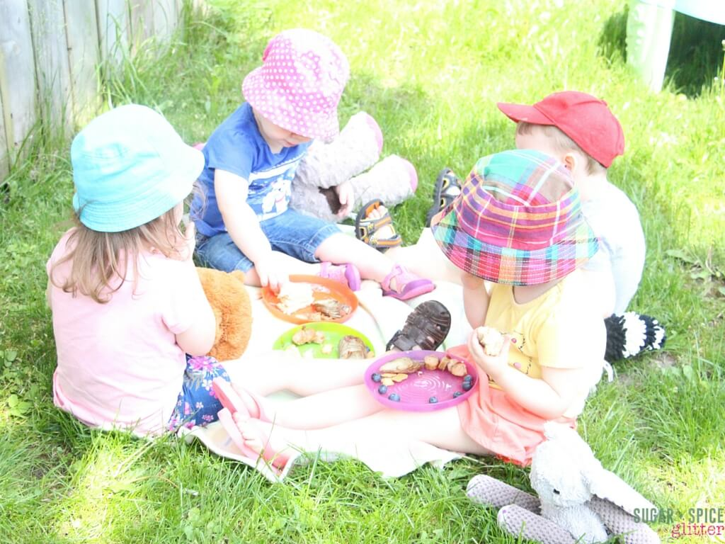 teddy bear picnic blanket