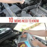10 Car Maintenance Tips & Skills All Moms Need to Know