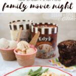 Ice Cream Themed Family Movie Night