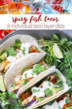 Spicy Fish Tacos Recipe