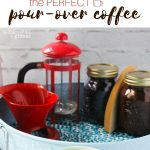 Cute & Cheerful Pour-over Coffee Station