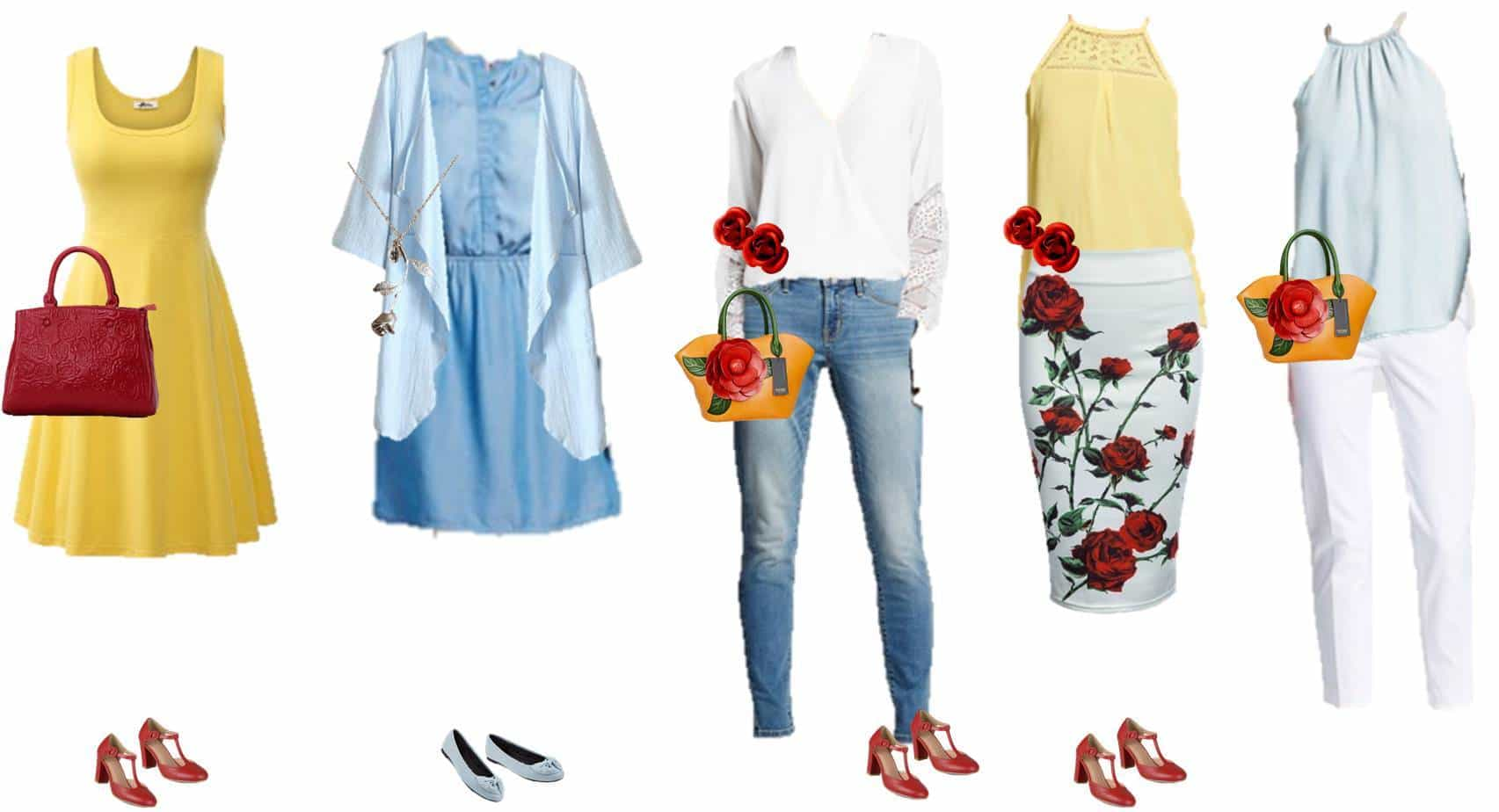 Disney Inspired Outfits Belle Mix & Match Belle-...