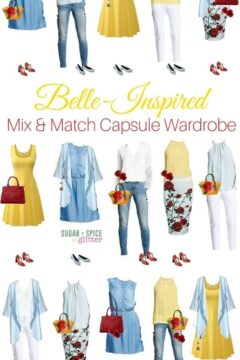 Mix & Match Belle-inspired Outfits