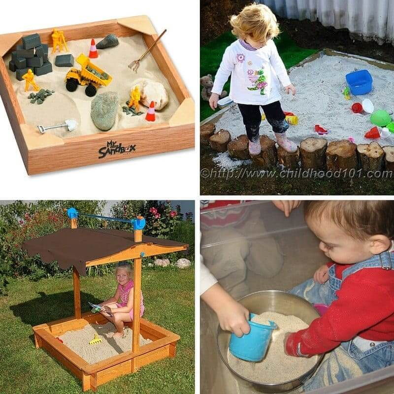 More Sandbox Set Up Ideas