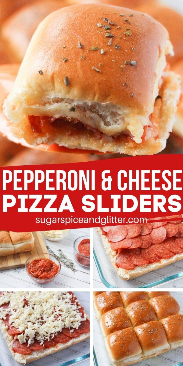 Yum! These pizza sliders are a delicious option for an easy weeknight supper that everyone can agree to. It also makes a great meal for parties or potlucks - just don't plan on having any leftovers.
