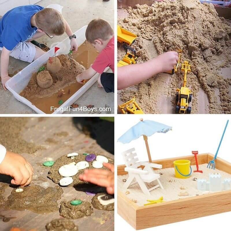 Sandbox Set Up Ideas