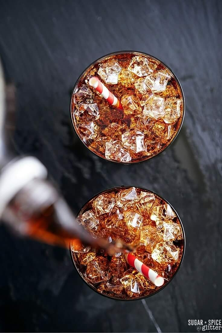 How to make an Amaretto cocktail that tastes just like Dr Pepper - without Dr Pepper. A delicious cinnamon cocktail