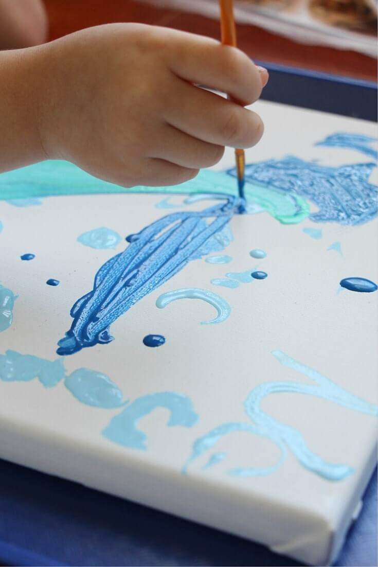 how to make ocean art (2)