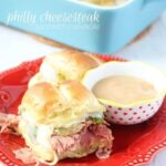 Philly Cheesesteak Sandwich Casserole
