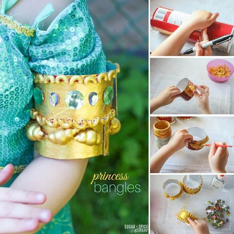 princess bracelet craft for kids (1)