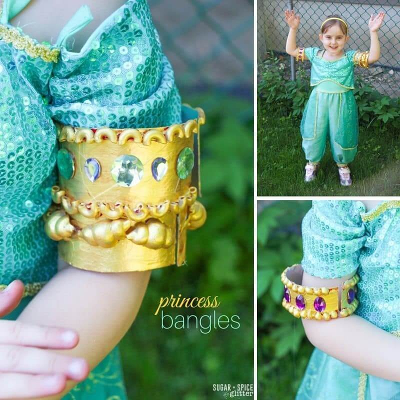 princess bracelet craft for kids