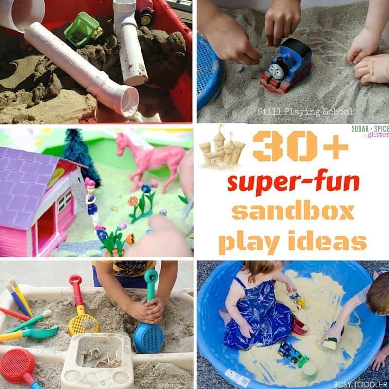 sandbox play ideas