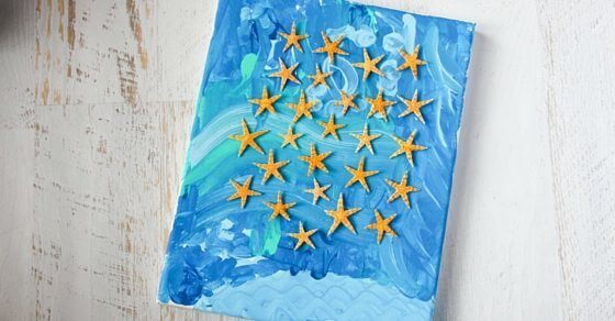 starfish craft for kids (1)