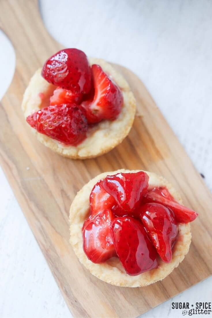 strawberry tarts recipe