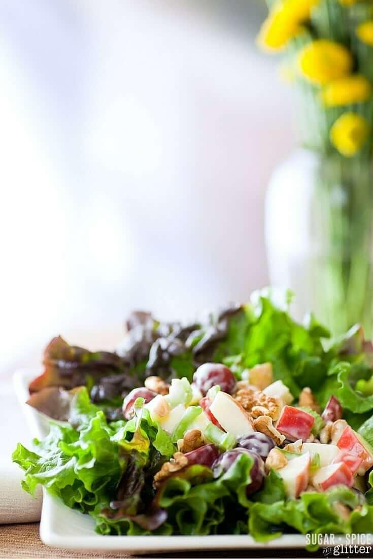 waldorf salad yummly