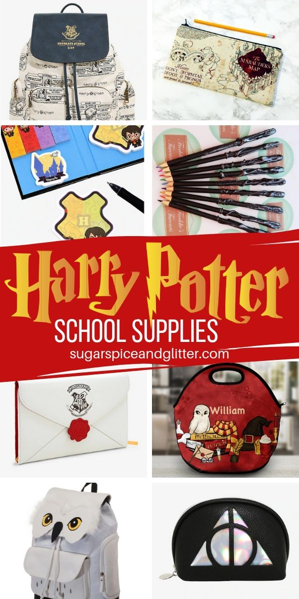 Whether you're a muggle, witch or wizard, you're going to LOVE these Harry Potter School Supplies, from DIY Harry Potter crafts to awesome one-of-a-kind handmade finds