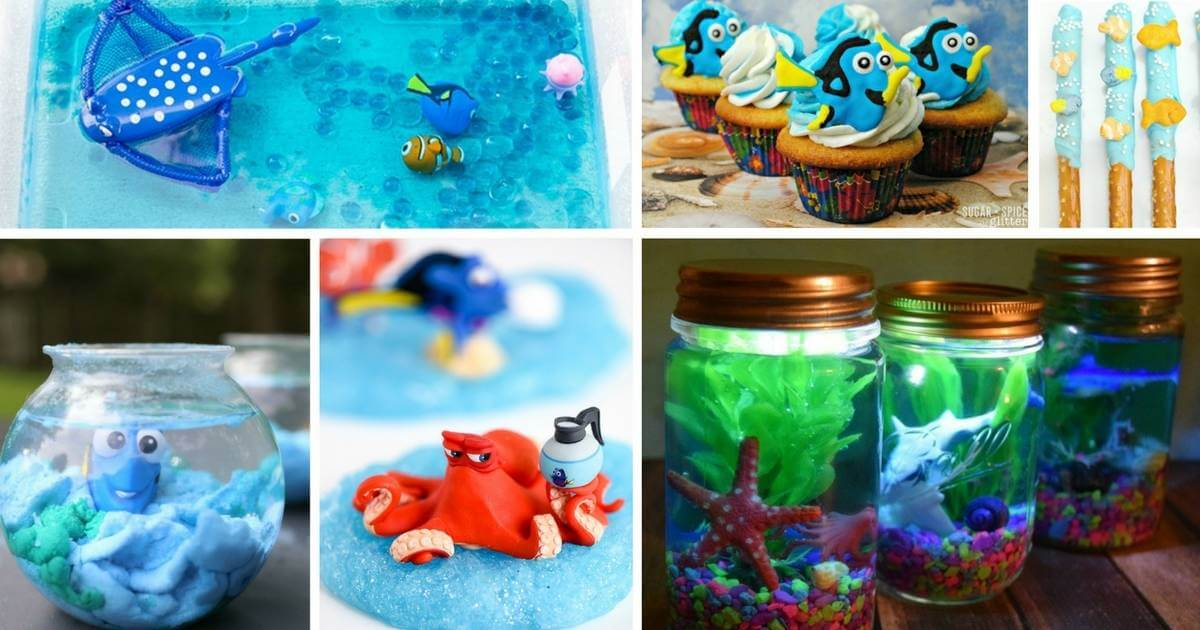 disney dory activities for kids