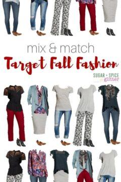 Mix & Match Target Fall Fashion