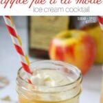 Apple Pie a la Mode Cocktail