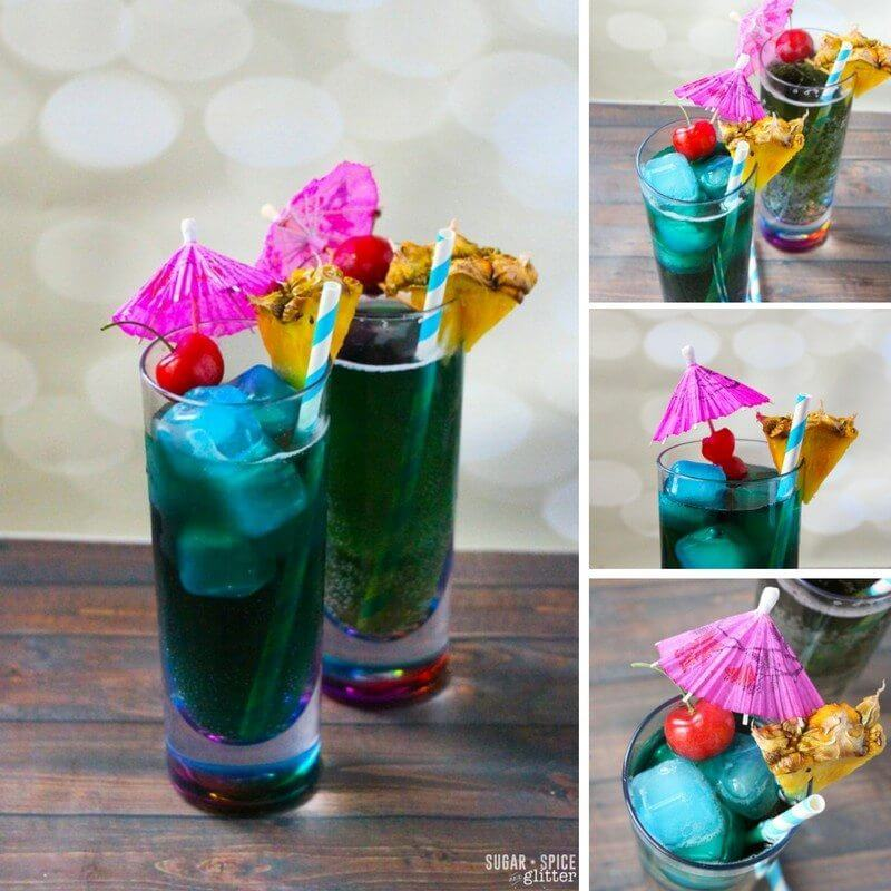 How to make a classic blue lagoon cocktail - plus a second recipe using cream soda for a citrus-vanilla twist