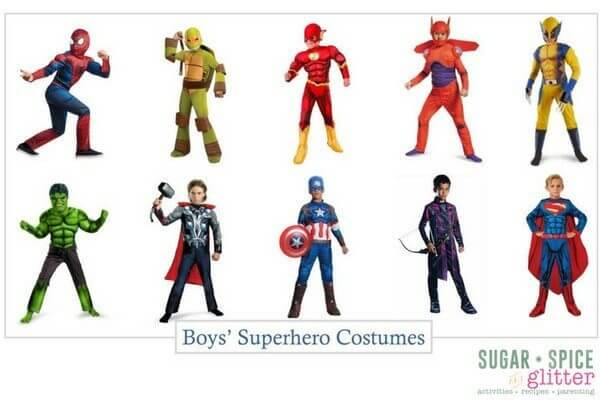 Amazon Superhero Costumes For Girls And Boys Sugar Spice And