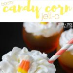 Boozy Candy Corn Jell-O for Grown-ups