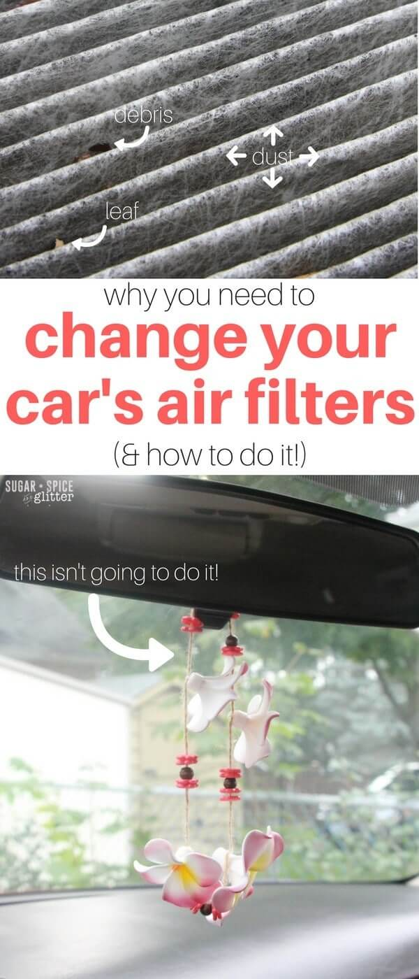 Why you need to change your car's air filters - for your family's health and for your car's performance