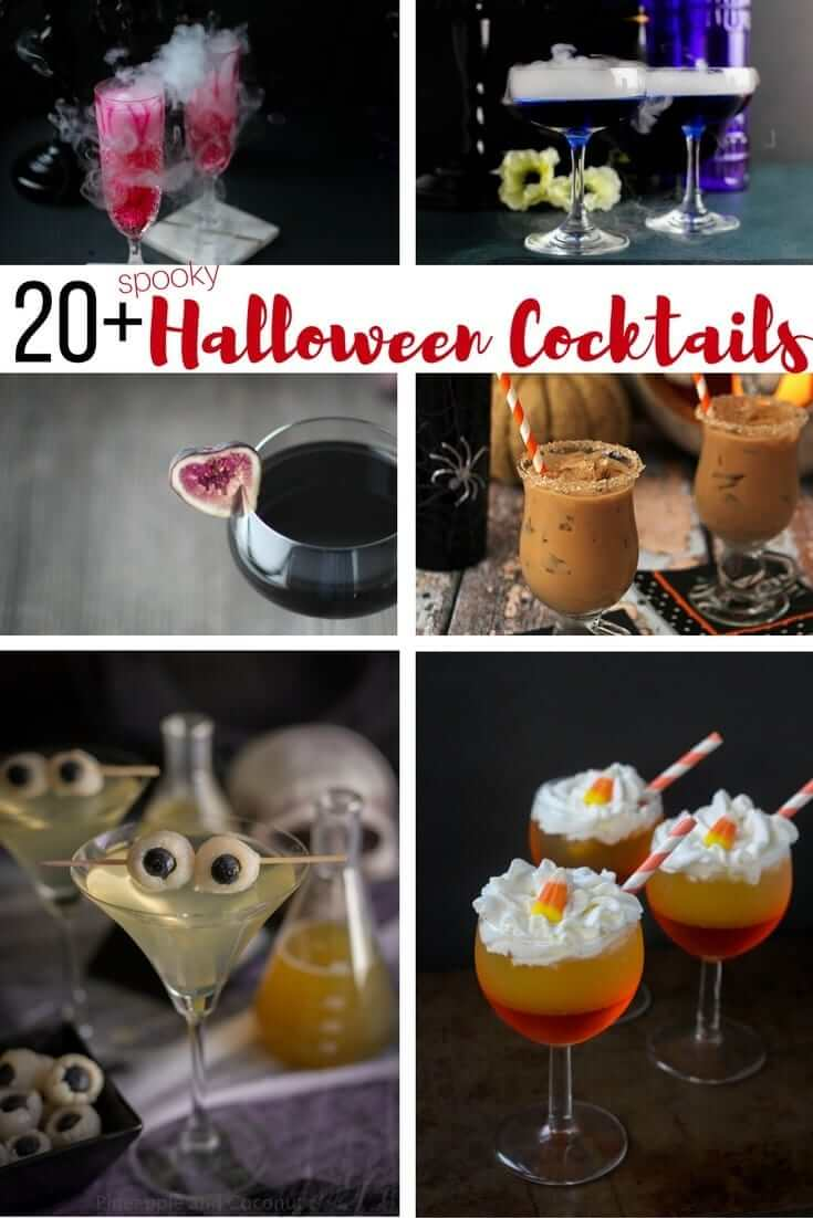 20 Delicious and Spooky Halloween Cocktail recipes for the perfect Halloween party