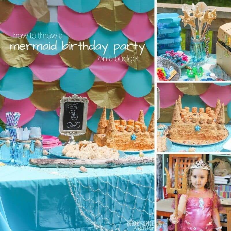 Mermaid Birthday Party Sugar Spice And Glitter