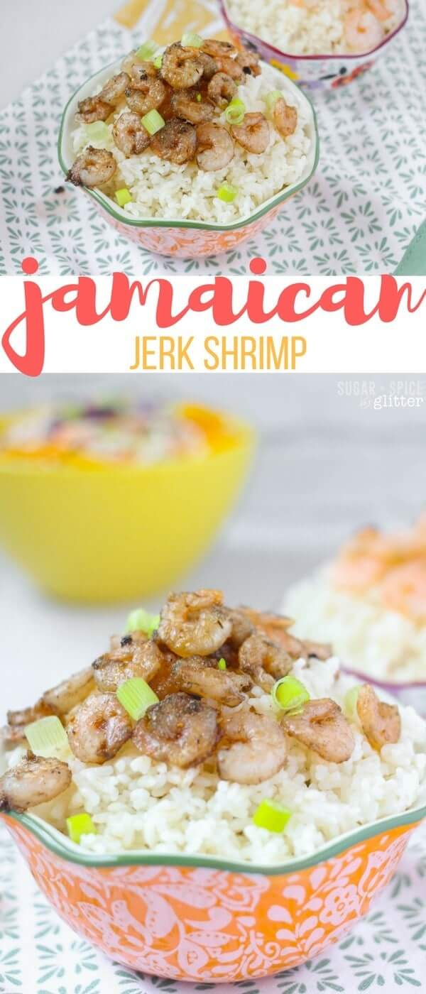 An authentic and spicy Jamaican jerk shrimp recipe with adjustable heat so you can enjoy the flavour no matter what your heat preference