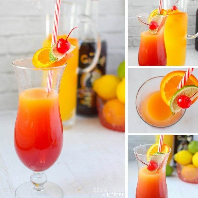 How to make a fruity rum punch recipe with a sweet citrus flavor