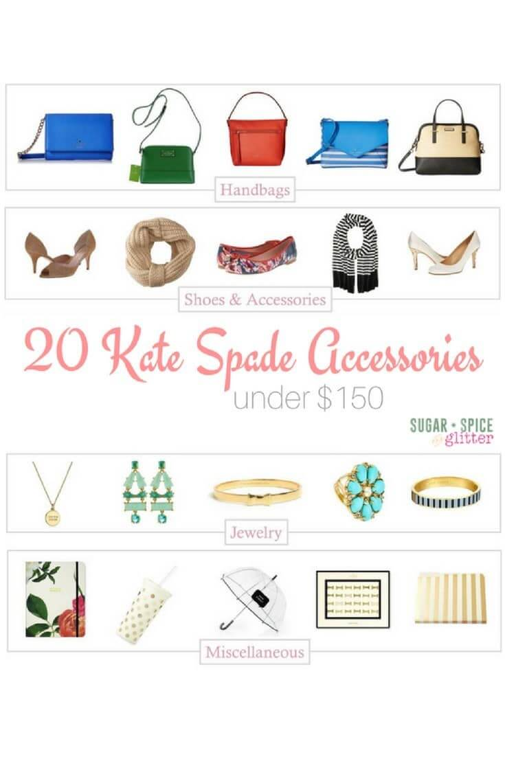 20 Kate Spade Accessories for fall - and every piece is under $150 - some are less than $50! Accessorize your wardrobe and your office with these curated picks