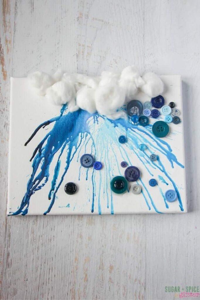 Crayon Drip Rain Cloud ⋆ Sugar Spice And Glitter