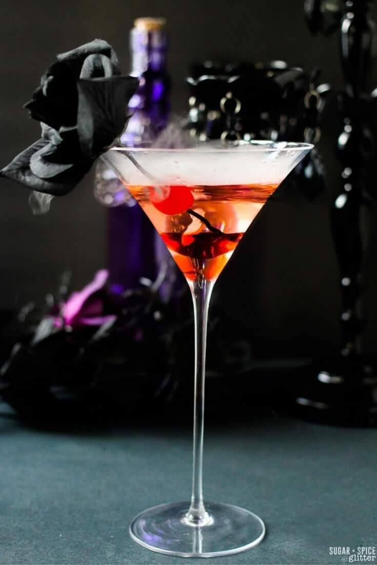 Smoking Gun Martini