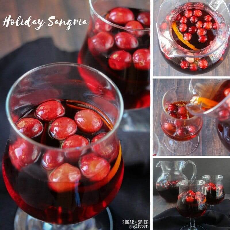 How to make a delicious holiday sangria with cranberry wine