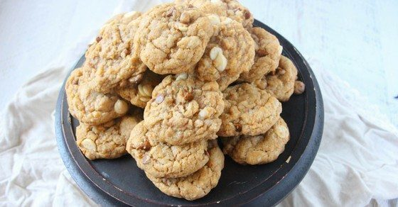 Delicious pumpkin spice cookies made by kids
