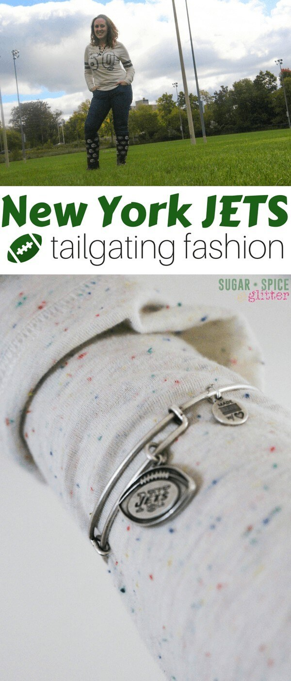 Cute tailgating fashions for women - for those of us who feel unnatural in jersey's but still want to show our team loyalty, here are some feminine and fun fashion choices to support your team in style!