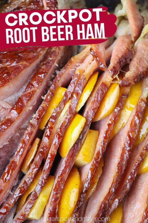 The ultimate spiral ham recipe for root beer fans, this Crockpot spiral ham is super simple and results in the most succulent ham you will ever taste
