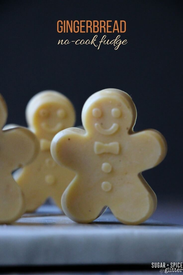 No-cook Gingerbread Fudge
