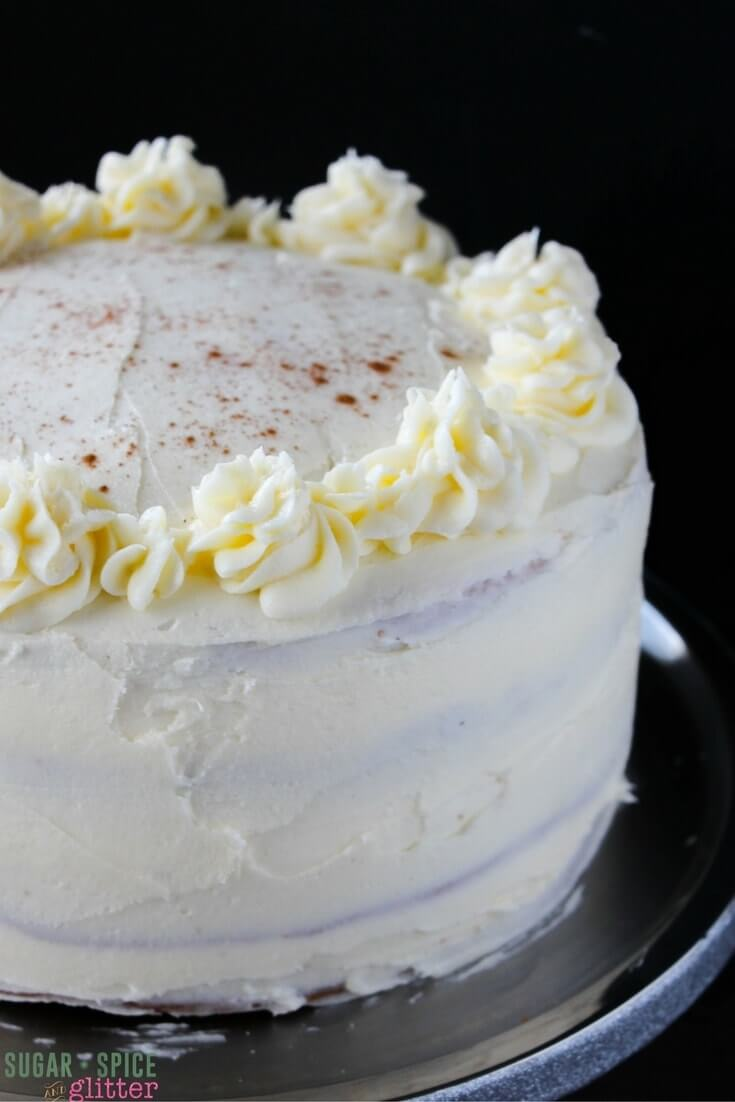 Step-by-step directions on how to make the best eggnog cake with homemade eggnog buttercream you will ever taste - your guests will be left begging for the recipe