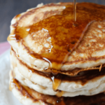 Festive 10-Minute Eggnog Pancakes