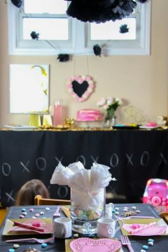 Chalkboard & Love Bugs Valentine's Party