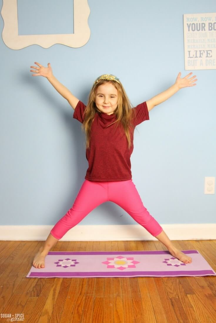Winter Yoga For Kids Sugar Spice And Glitter