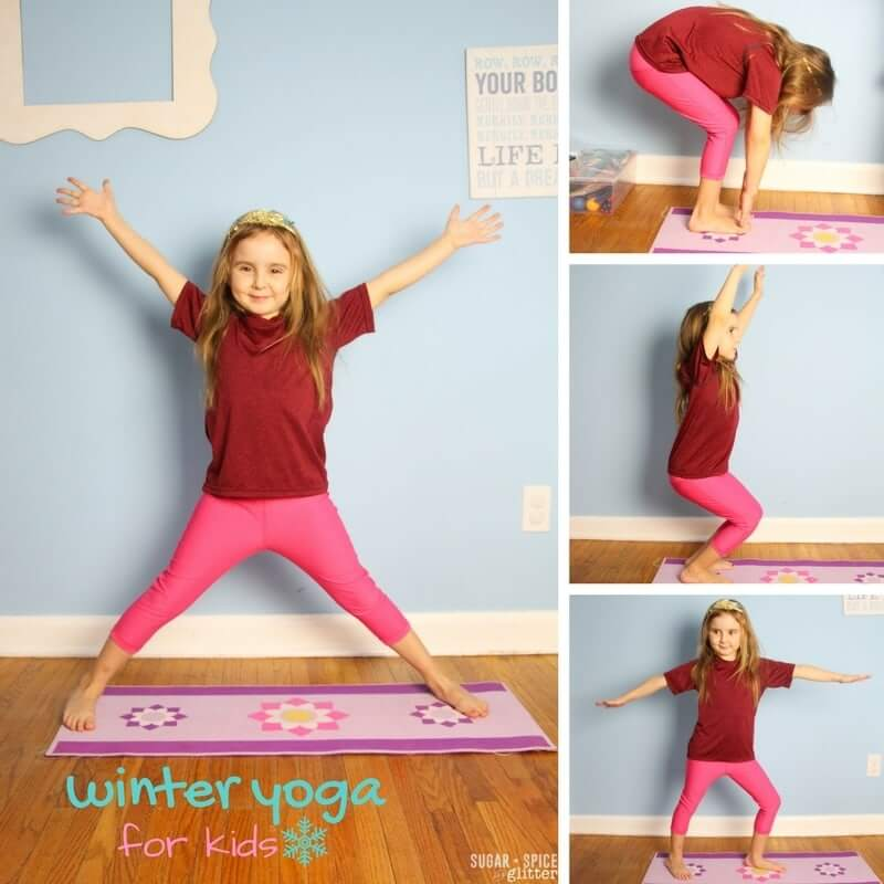 Winter Yoga for Kids