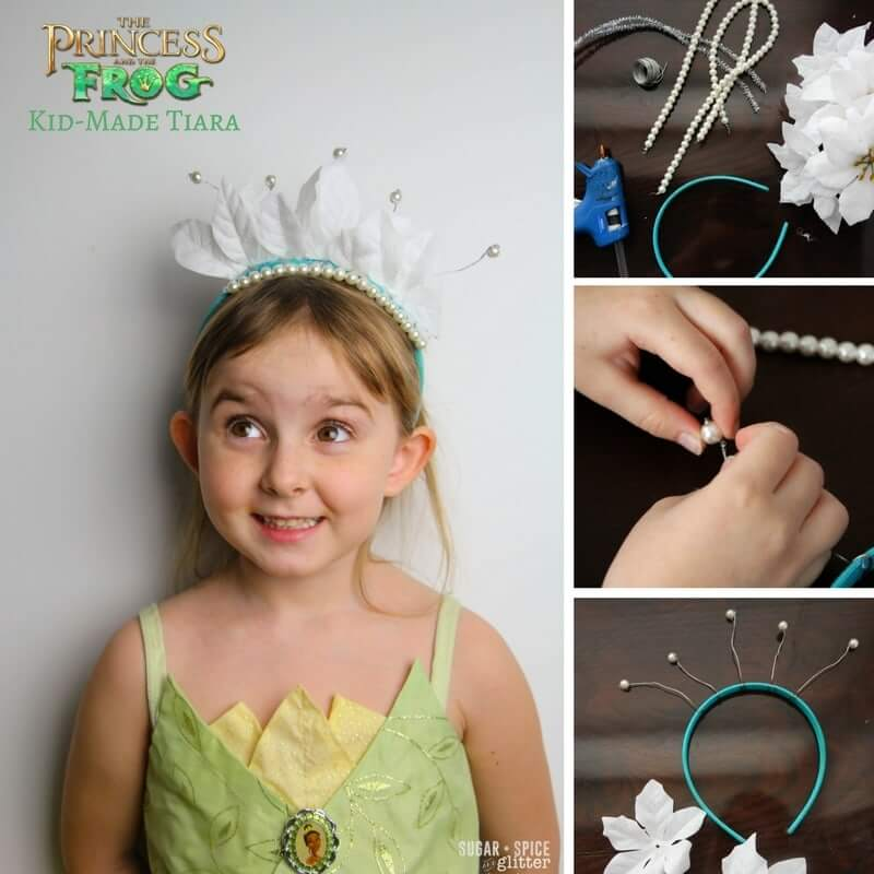 Princess Tiana crown craft