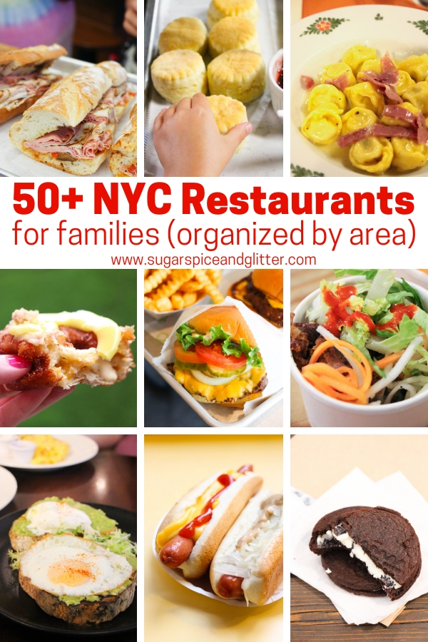 The best NYC restaurants for families, if you are planning a NYC family vacation we have all of your foodie picks for breakfast, supper - and dessert!