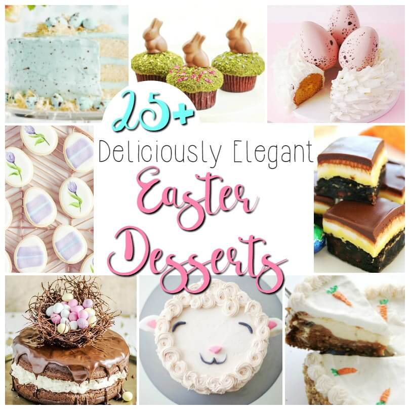 25 Easter Dessert recipe ideas