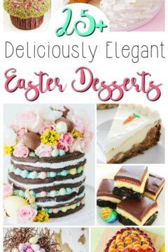 25+ Elegant Easter Desserts